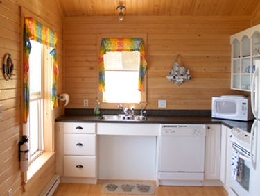 Seaward Inn | Sunrise Shore Cottages | Kitchen